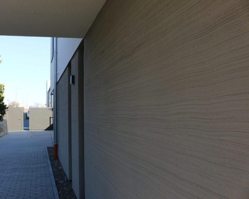 Bild von einer individuellen Fassade