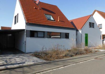 Fassadendämmung mit Styropor